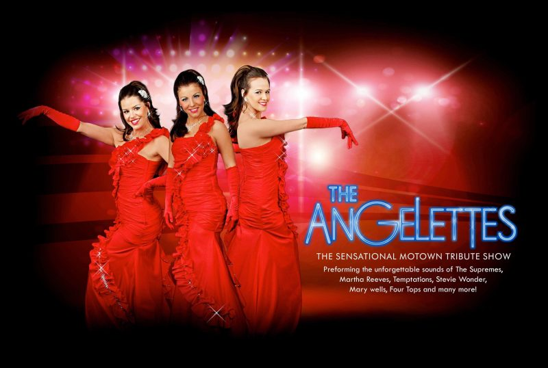 A poster for the Angelettes - a Motown trio