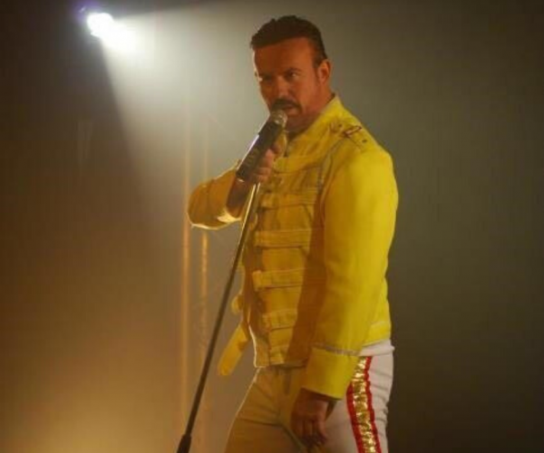 A tribute act f Freddie Mercury