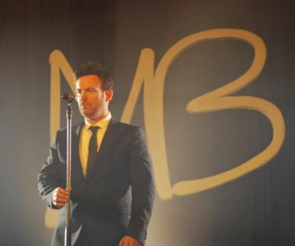 A tribute act of Michael Buble