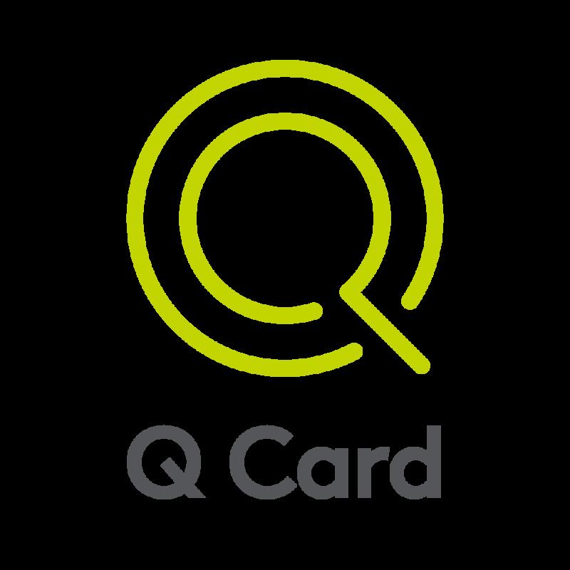 The Q Card logo